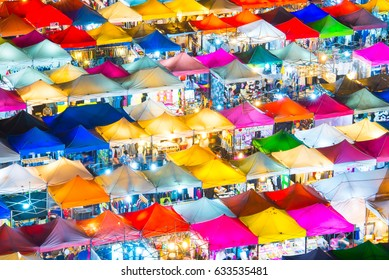 Ratchada Night Market, Bangkok, Thailand