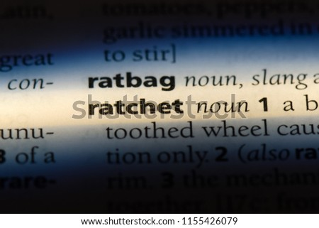 the definition of ratchet
