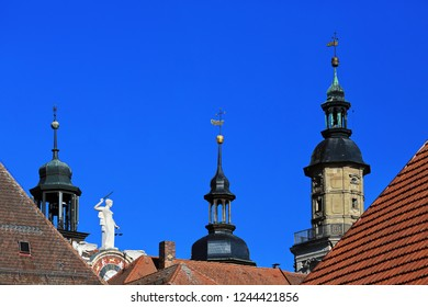 Rathaus Bad Windsheim is a city in Bavaria Germany