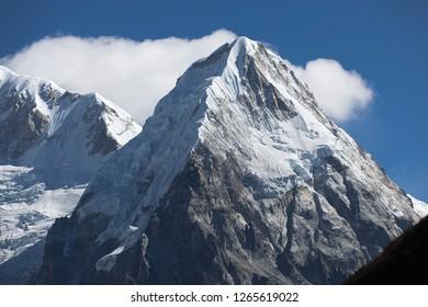 Rathong peak in Kanchenjunga region of Nepal.