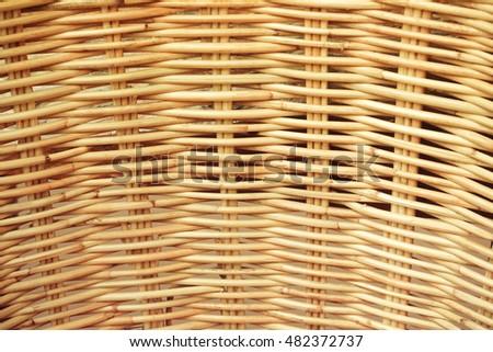 Rattan Texture Black Background Pattern Weaving Stock Photo Edit