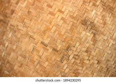 Rattan texture handcraft bamboo background.