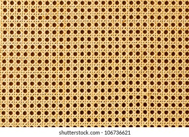 Rattan texture for use as background