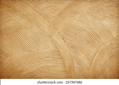 Rattan wall decorative background