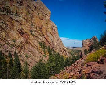Rattlesnake Gulch - Eldorado Canyon State Park