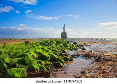 rattray head lighthouse aberdeenshire scotland