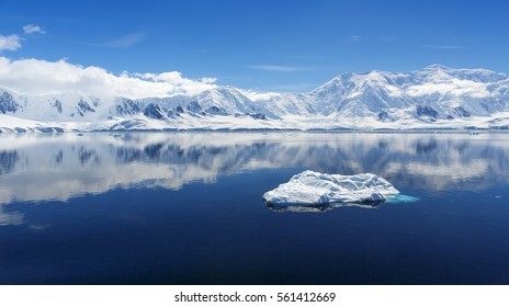 ravel among the Antarctic ices. Global warming on the planet and climate changes. Fantastic landscapes of the Southern continent. Majestic glaciers. Importance of preservation of ecological balance.