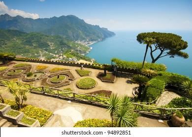 Ravello, Amalfi Coast, Italy. Villa Rufolo