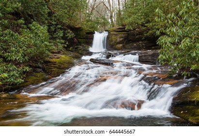 Raven Cliffs Falls in North Georgia