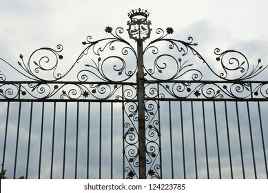 Ravenna, antique wrought iron gate