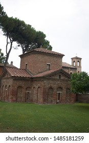 Ravenna, Italy - August 14, 2019 : view of Mausoleum of Galla Placidia - Shutterstock ID 1485181259
