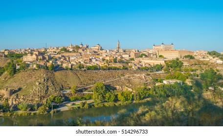 Ravine through the city of Toledo