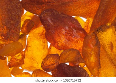 The raw amber from coast of the Baltic sea - Image