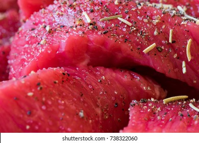 Raw Beef with Rosemary