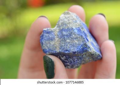 Raw Blue-Indigo Lapis Lazuli Healing Crystal. Freestanding for alters or grids! Metaphysical gifts~ Lapis Lazuli natural chunk. Rough Lapis!