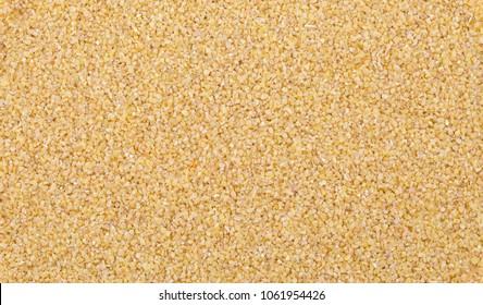 Raw Cereal Food Also Know as Bulgur, Dalia or Daliya.