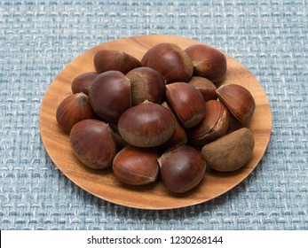 Raw chestnuts made in Japan