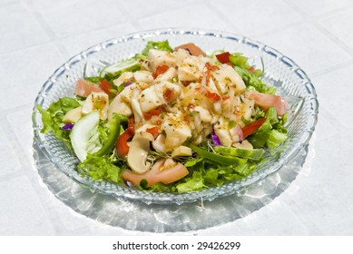Raw Conch Salad