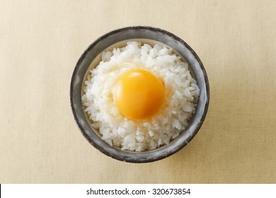 Raw Egg over Rice