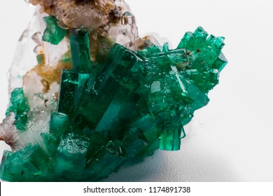 raw emerald and gemstone rough uncut emerald crystals