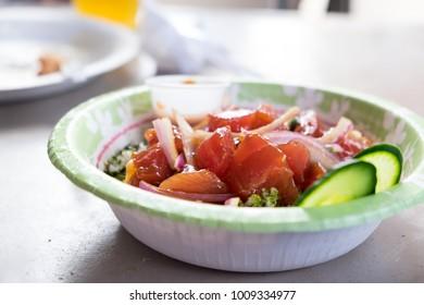 Raw Fish Poke Bowl