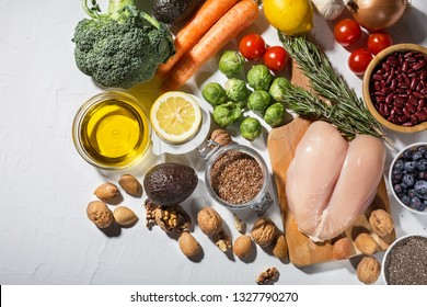 Person Fitness Eating Chicken Images, Stock Photos & Vectors