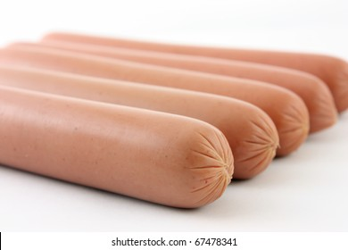 Raw Hot Dogs