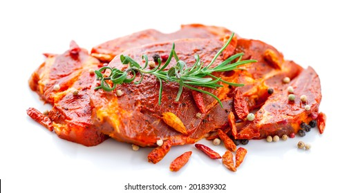 Raw Marinated Meat