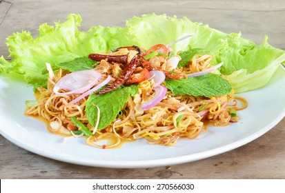 Raw Material of Banana blossom salad