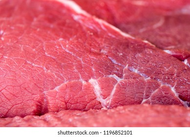 Raw meat close up