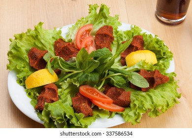 Raw Meat Turkish Food