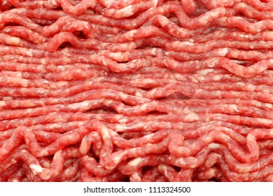 Raw minced beef meat  background