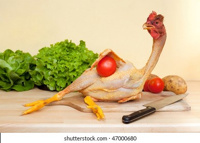 The naked chicken