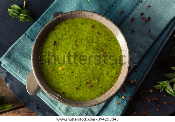 Raw Organic Green Chimichurri Sauce Ready to Use