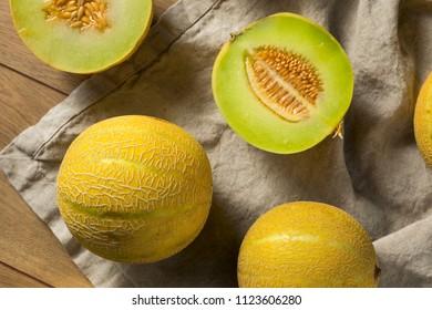 Raw Organic Lemon Drop Melon Ready to Eat