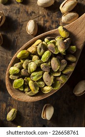 Raw Organic Pistachio Nuts in a Bowl