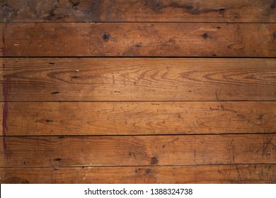 raw scratch pine wood plank horizontal texture backgound