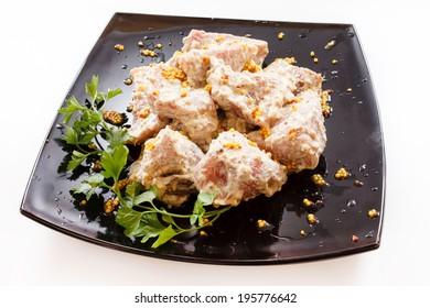 raw shashllik