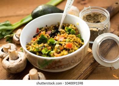 Raw, vegan, vegetarian healthy food concept.