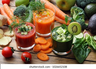 raw vegetable juices