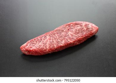 raw wagyu beaf, Japanese food