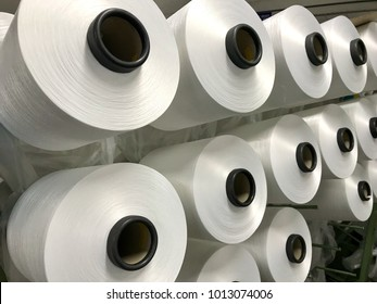 Raw White Polyester FDY Yarn spool, Polyester Filament Yarn spool.PET fiber Yarn,spun polyester sewing thread