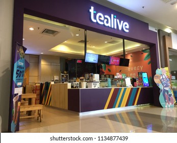 Rawang, Selangor, Malaysia, 10th July 2018 - Tealive is our name. And tea is our game. We are a team of passionate tea people. And we here to brew new life to tea