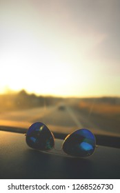 Ray Ban Aviators at Sunset