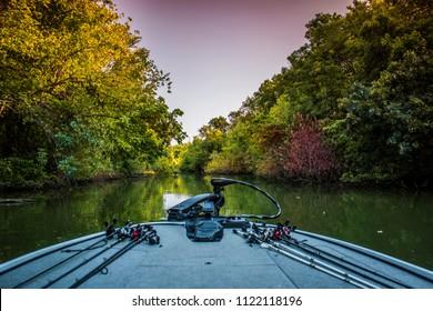 Ray Hubbard Lake, Texas. River