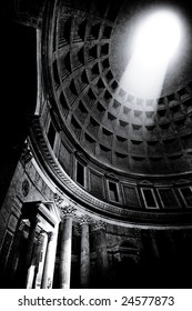 Ray of Light inside the Pantheon