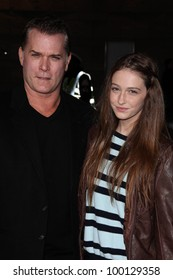 "Ray Liotta, daughter Karsen Liotta at ""The Grey"" Los Angeles Premiere, Regal Cinemas, Los Angeles, CA 01-11-12"