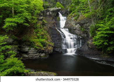 Raymondskill Falls in Delaware Water Gap National Recreation Area