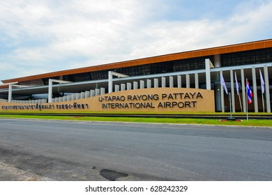 Rayong,Thailand  -05 April ,?2017: A new international airport for people  business and travelers go to U Tapao Rayong and Pattaya.