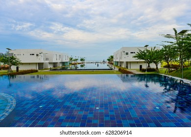 Rayong,Thailand-05 April ?2017 : Many resorts open to support  the special economic zone .